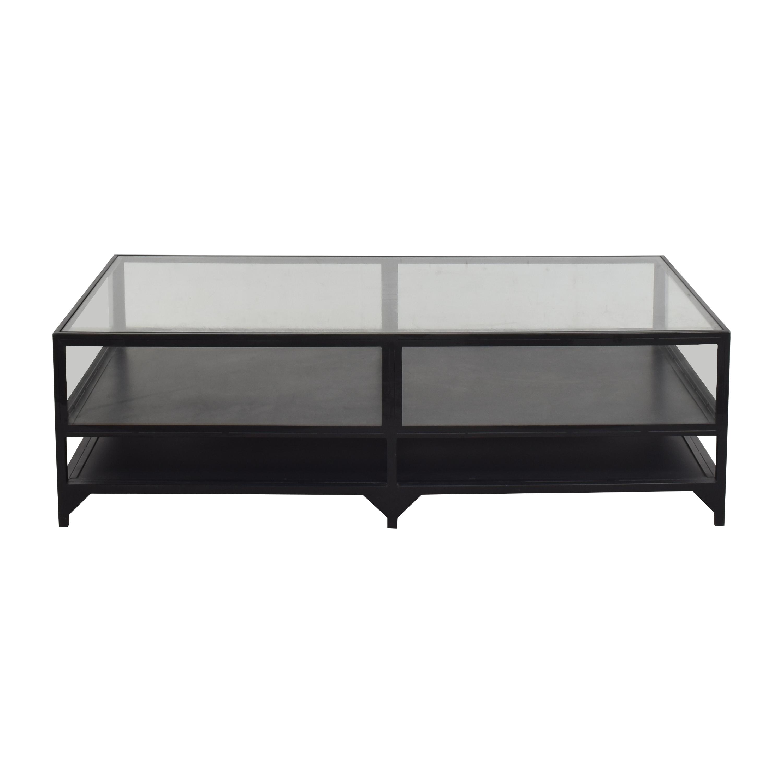 buy ABC Carpet & Home Shadow Box Coffee Table ABC Carpet & Home Tables