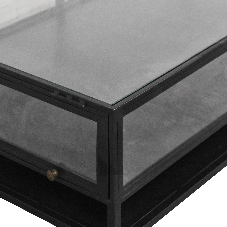 ABC Carpet & Home ABC Carpet & Home Shadow Box Coffee Table for sale