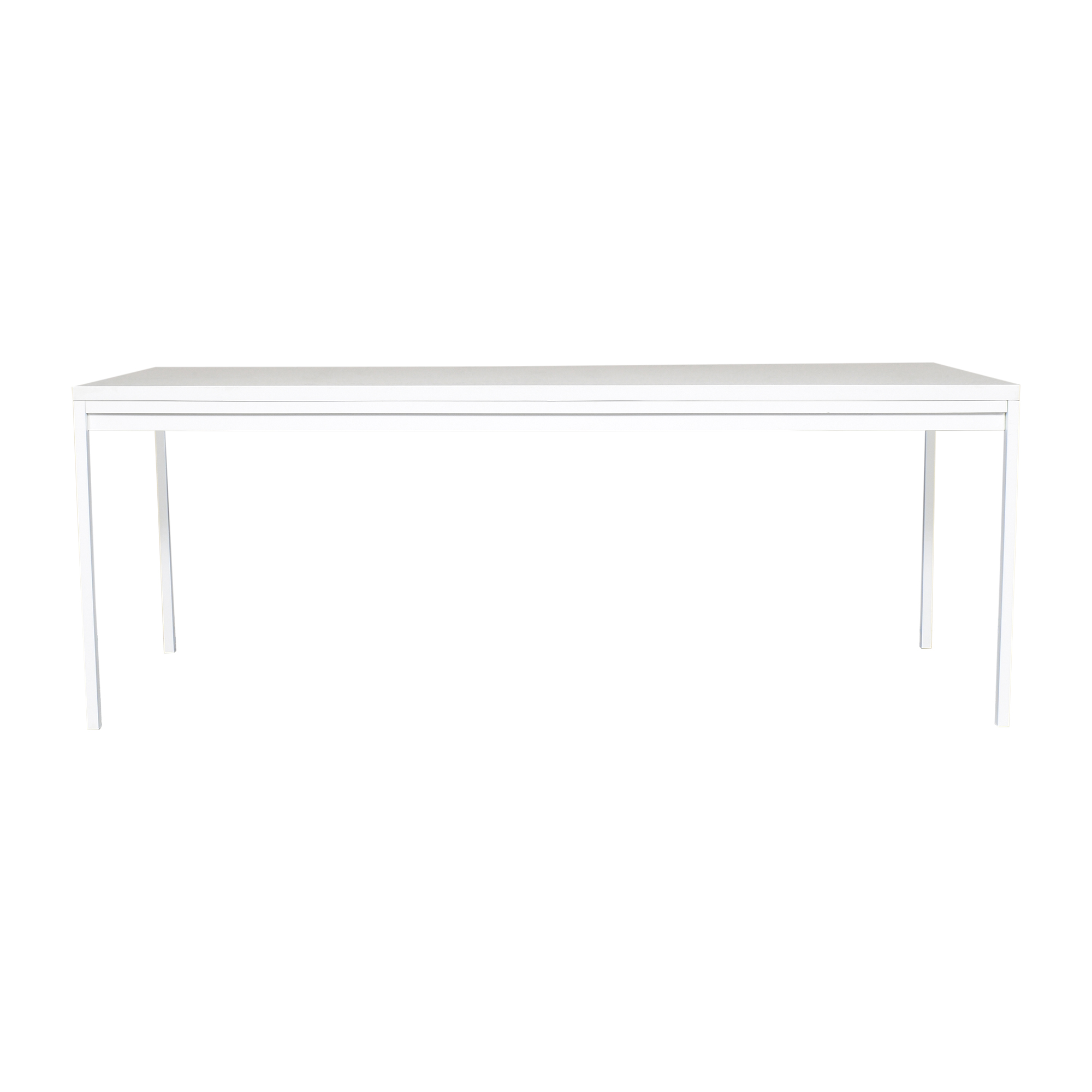 Crate & Barrel Crate & Barrel Casement Solid Surface Dining Table used