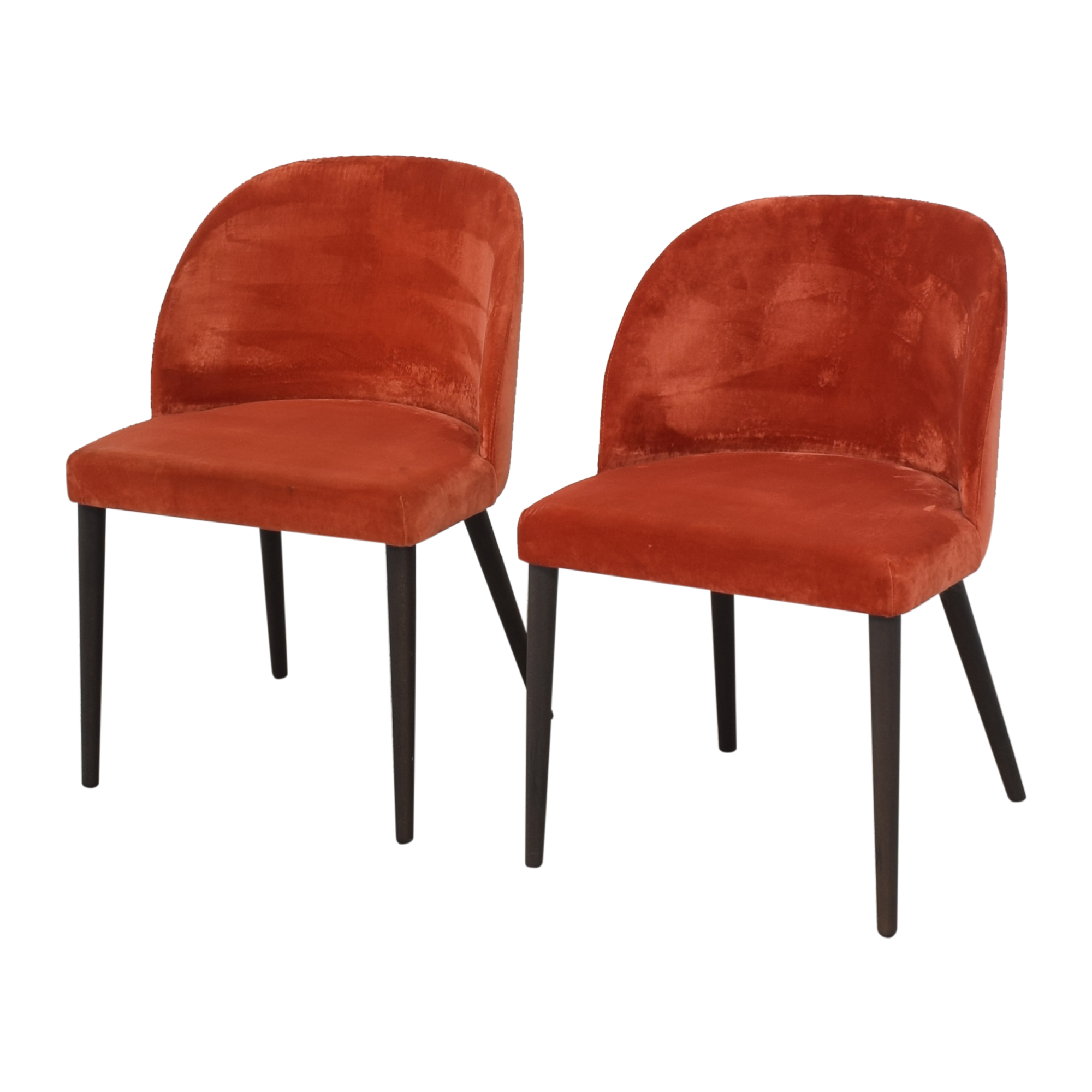 Crate & Barrel Crate & Barrel Camille Dining Chairs ma