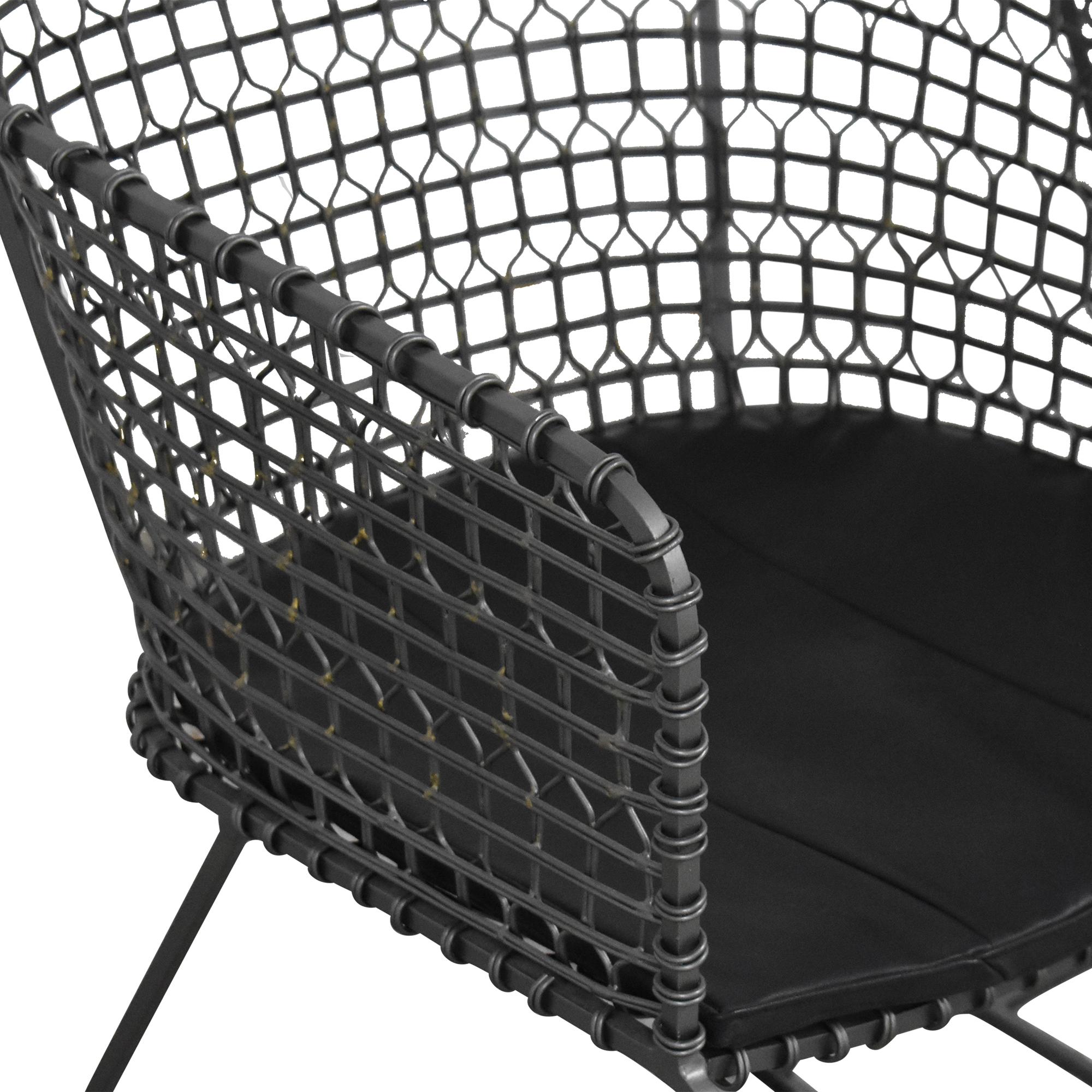 Crate & Barrel Crate & Barrel Tig Barrel Dining Chairs on sale