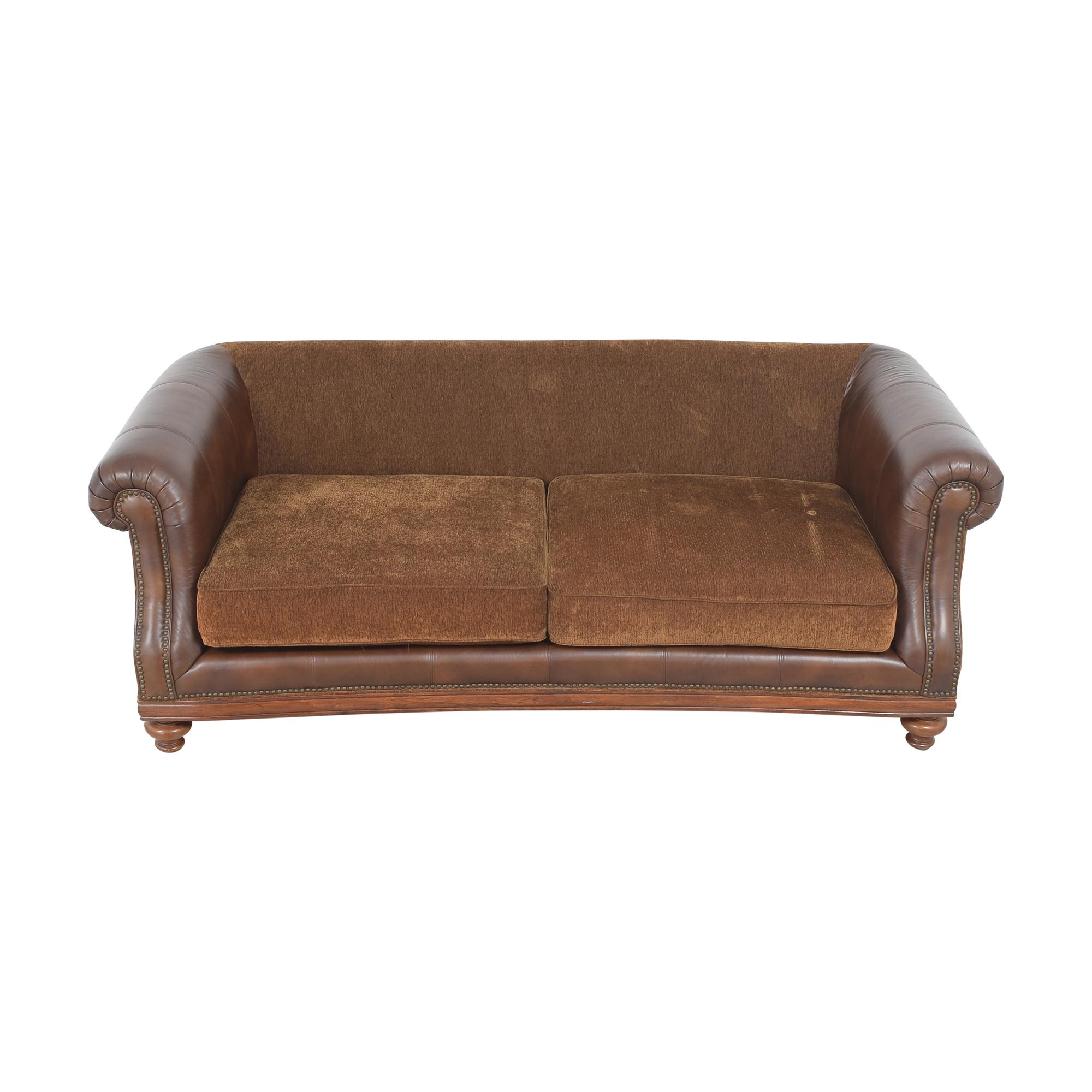 Fortunoff Fortunoff Nailhead Roll Arm Sofa nj