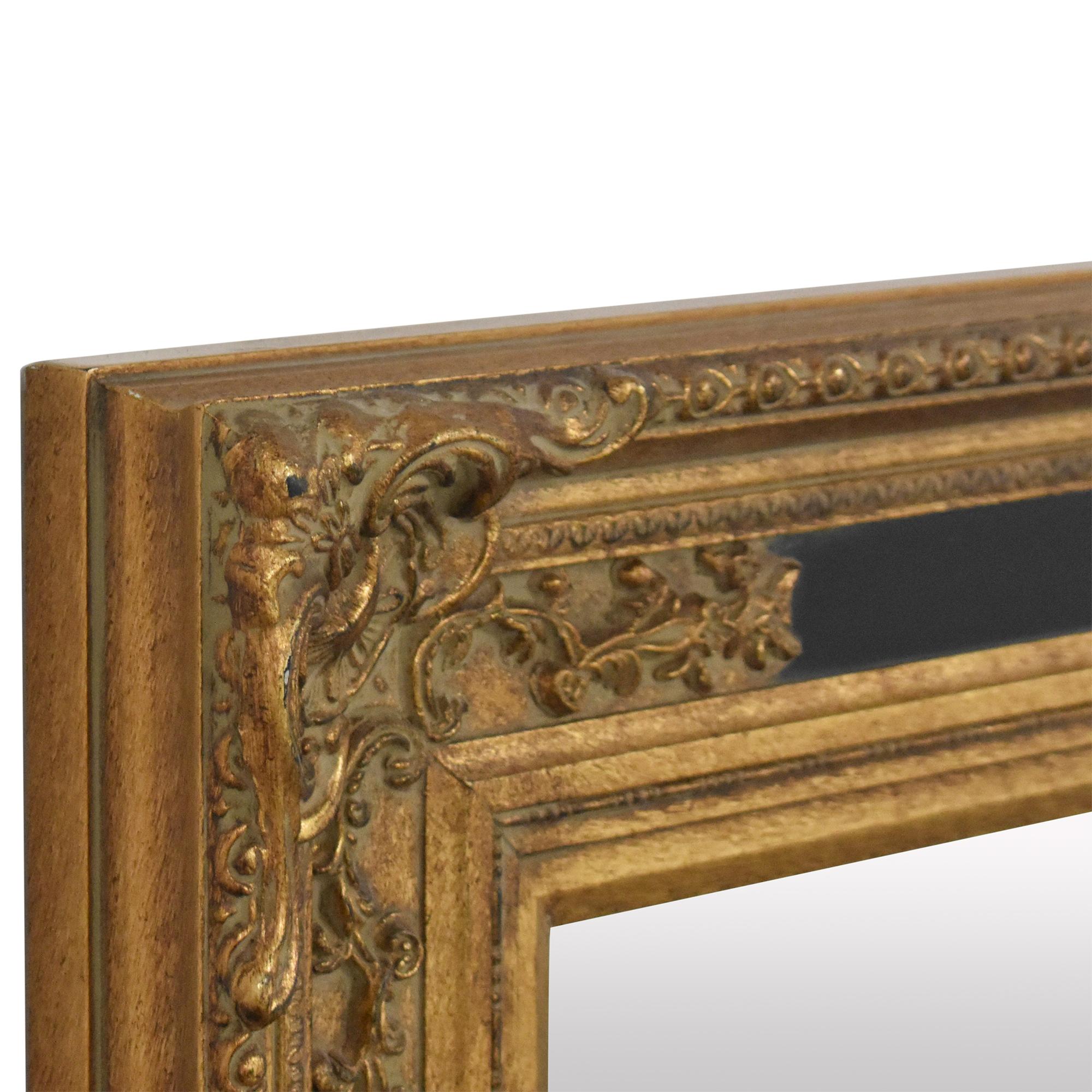 shop Ornate Framed Wall Mirror  Mirrors