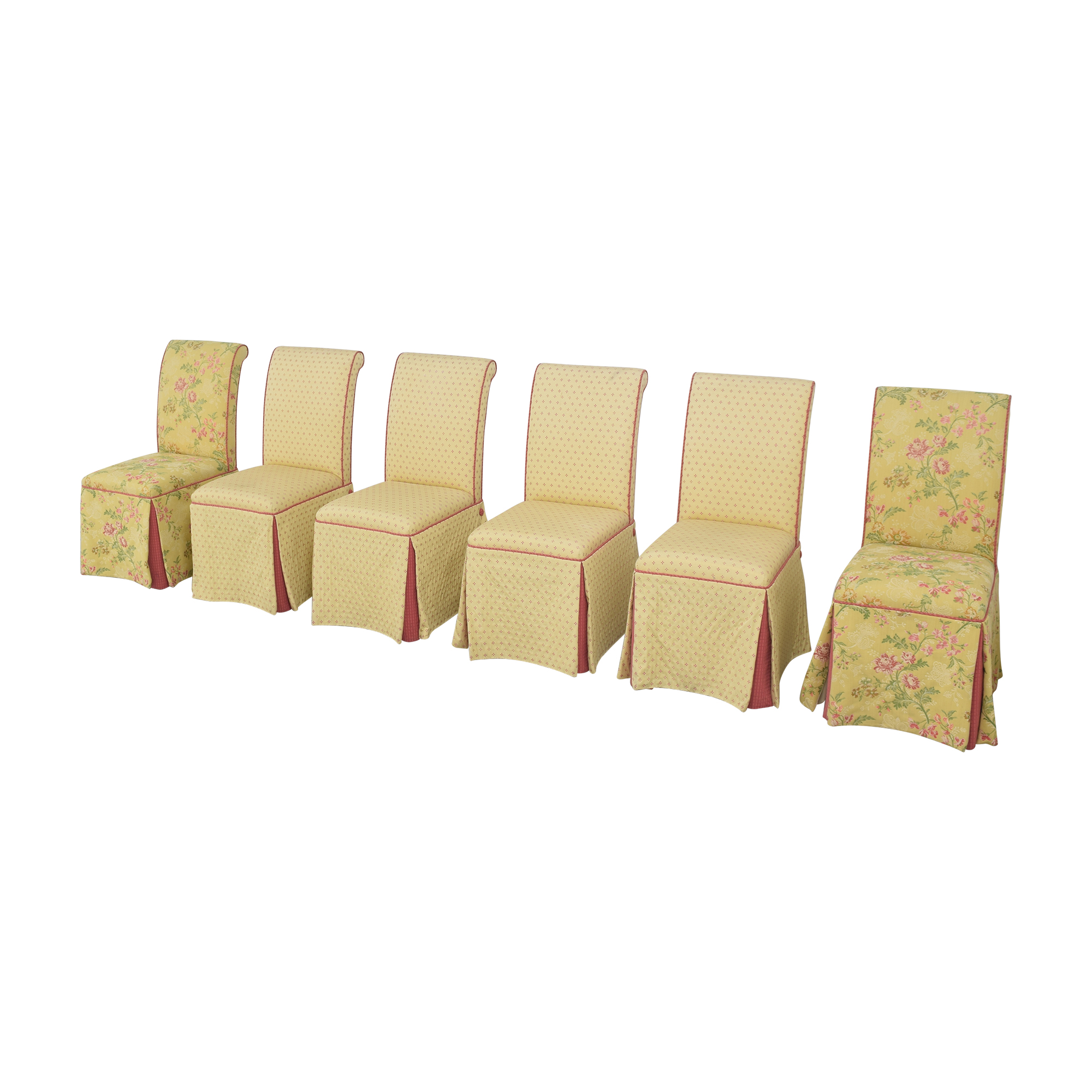 Custom Skirted Dining Chairs Chairs