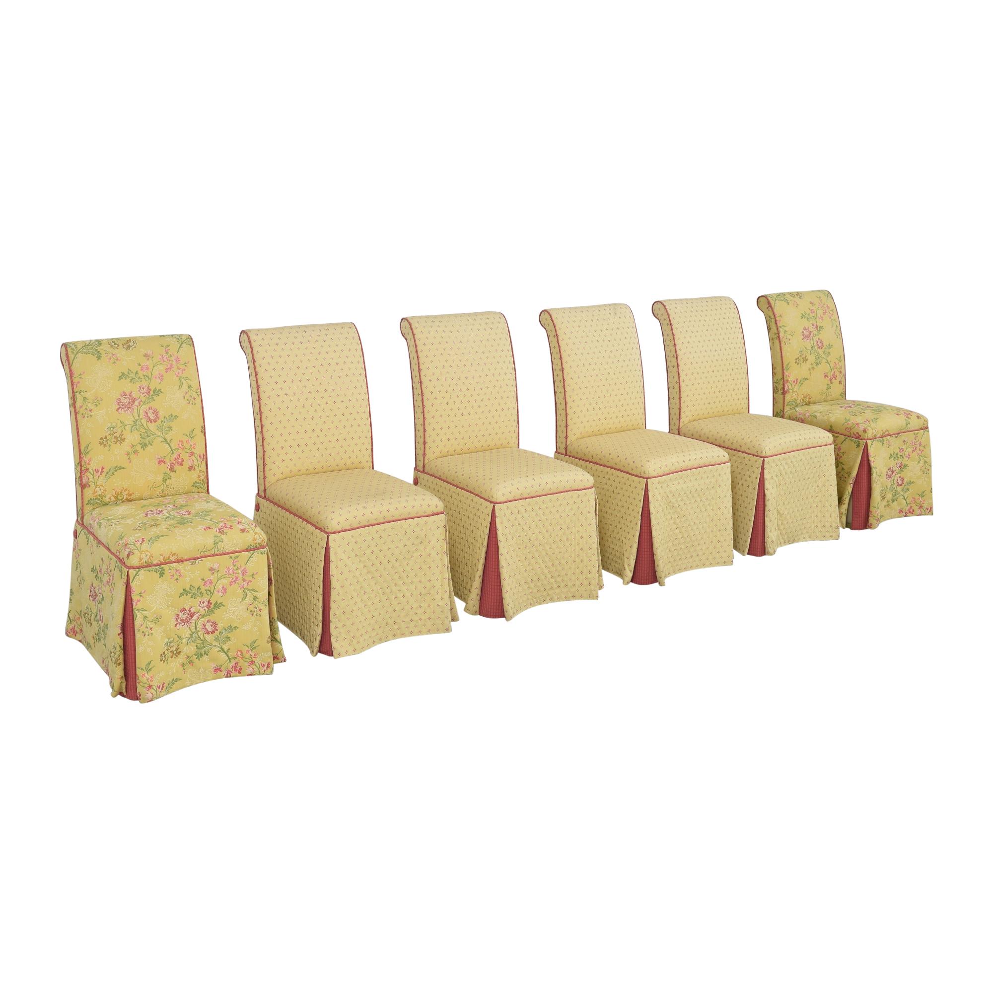 Custom Skirted Dining Chairs ct