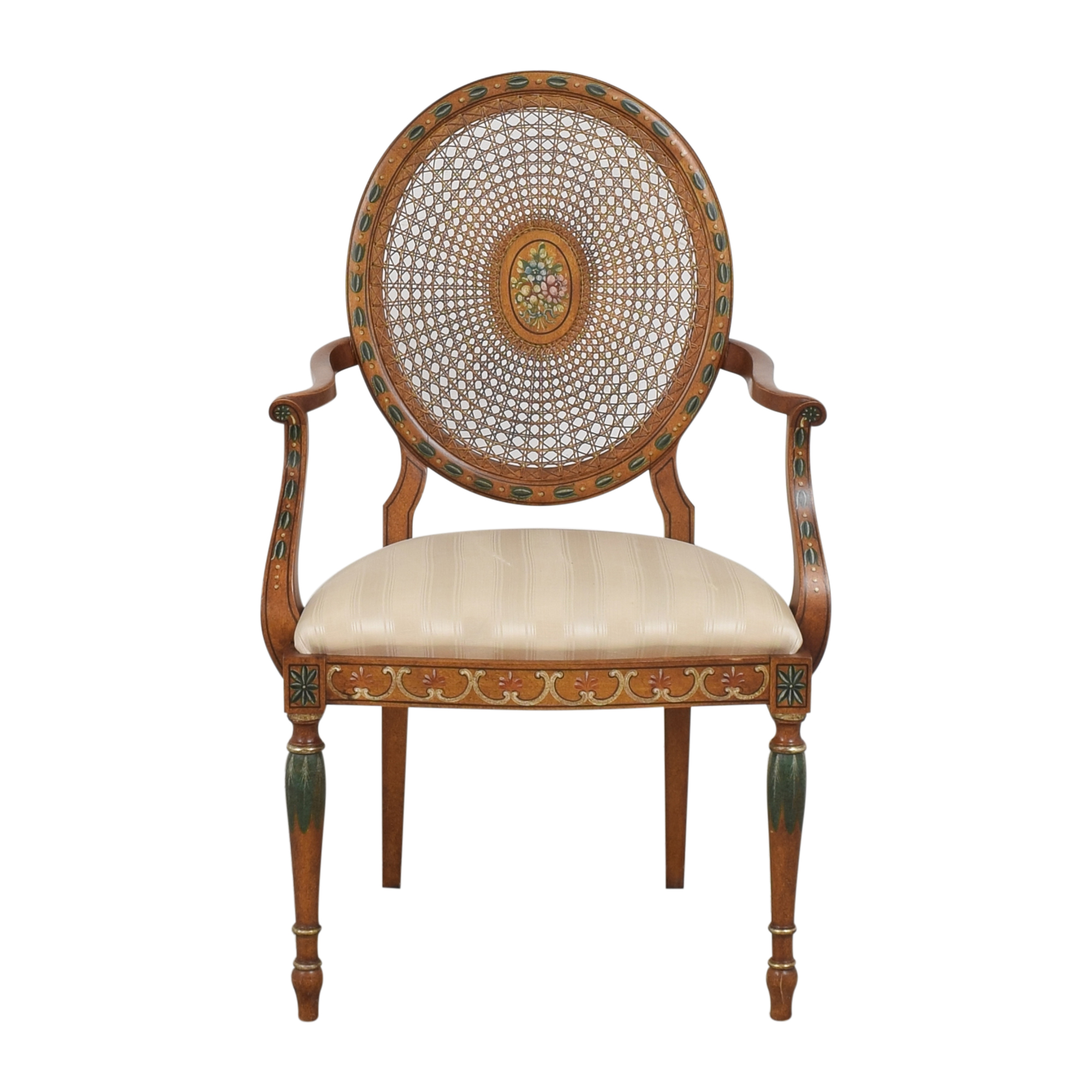buy  Medallion Back Accent Chair online