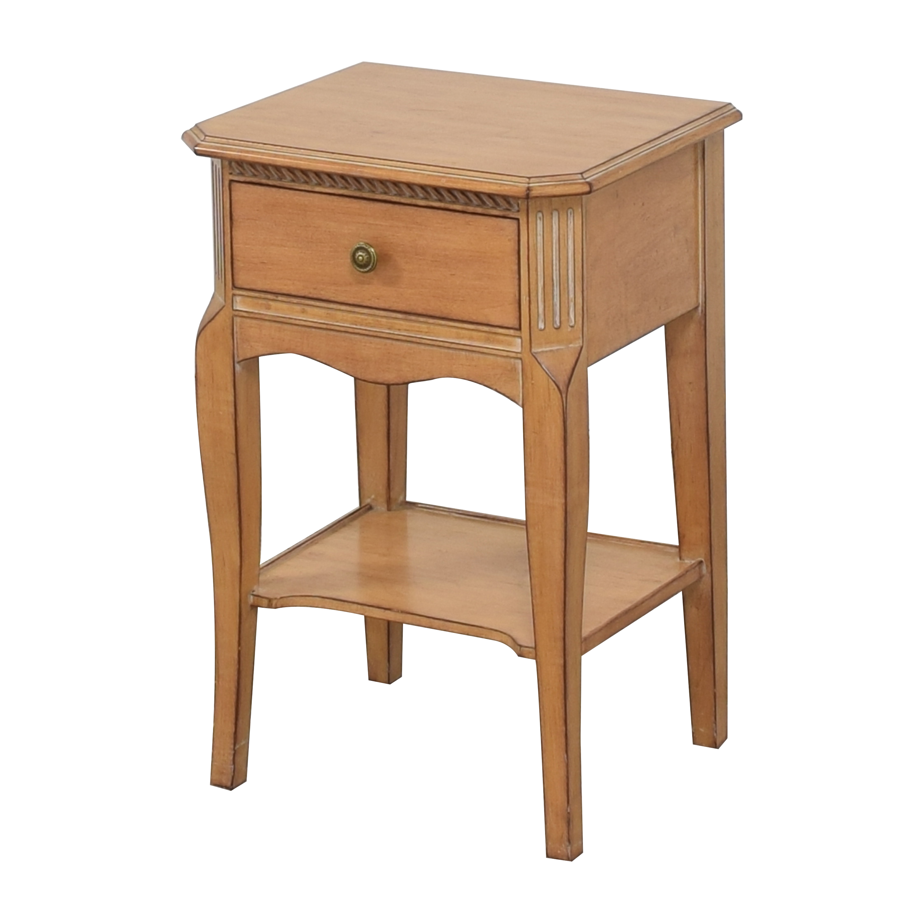 One Drawer Nightstand End Tables