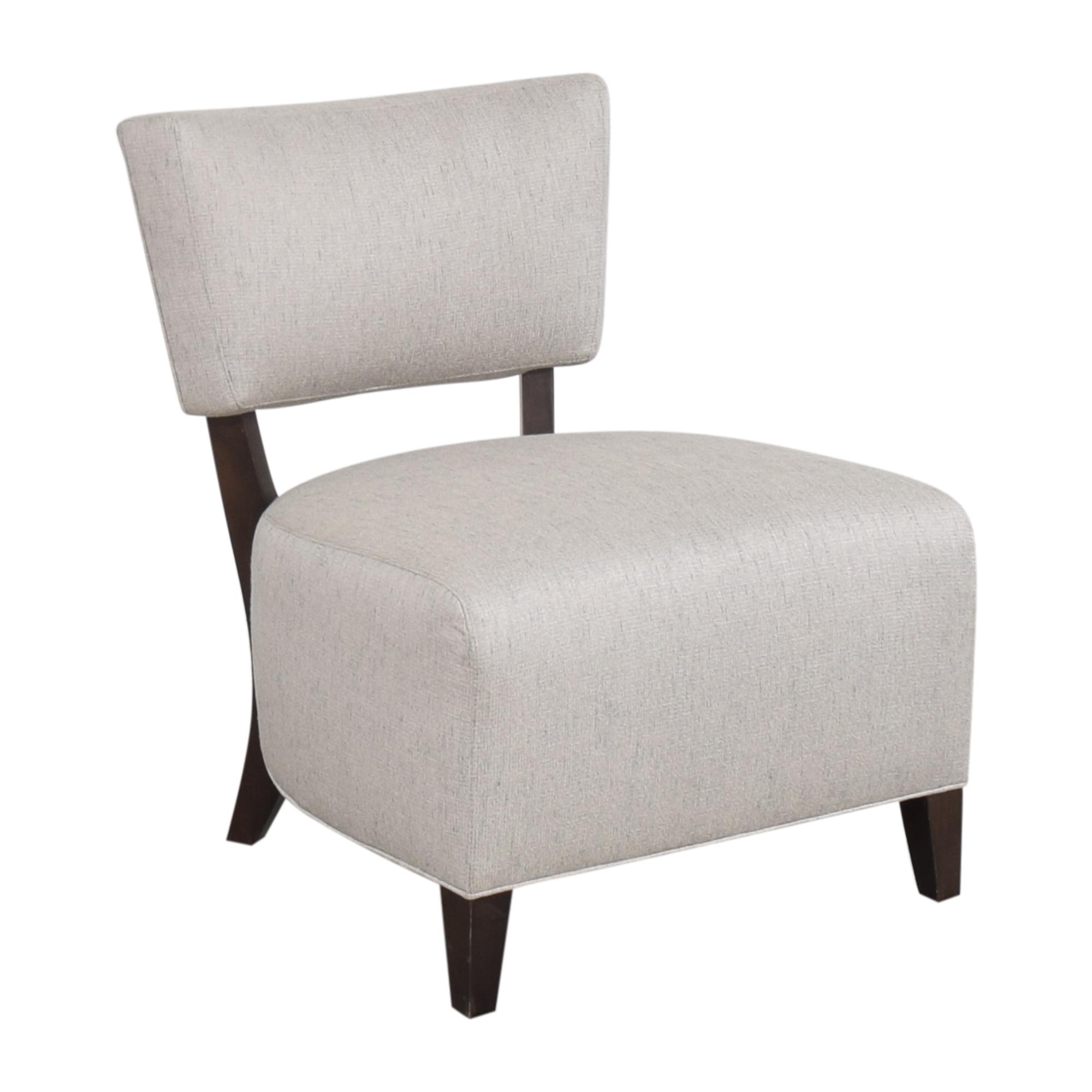 shop Ethan Allen Armless Accent Chair Ethan Allen Accent Chairs