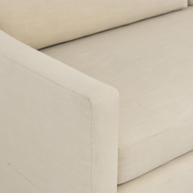 Modern Bench Cushion Sofa Classic Sofas