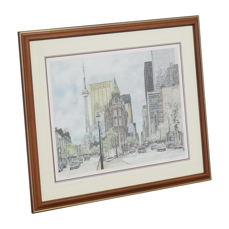 shop  Gerard Paraghamian Gooderham Building III Print online