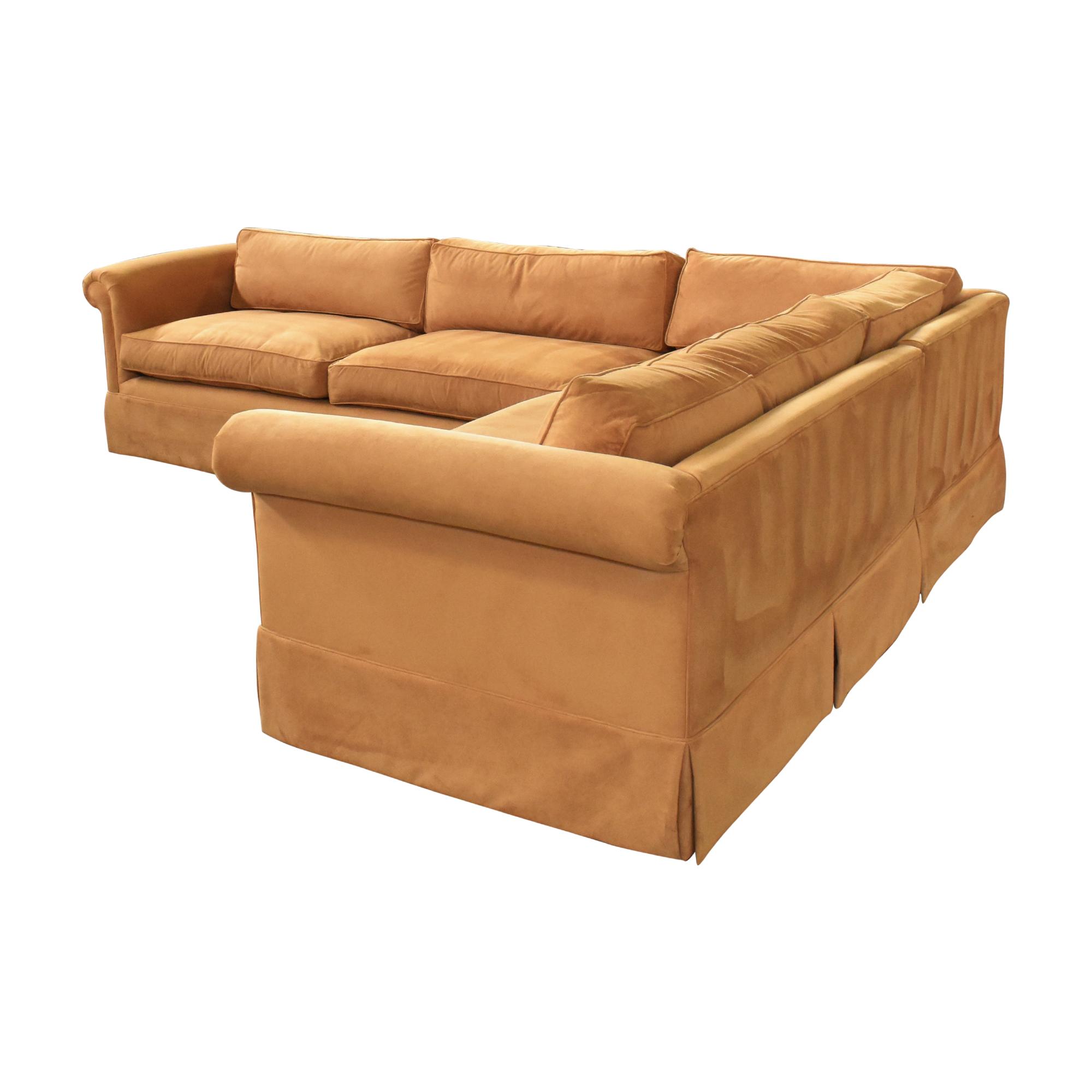 Custom Corner Sectional Sofa ct