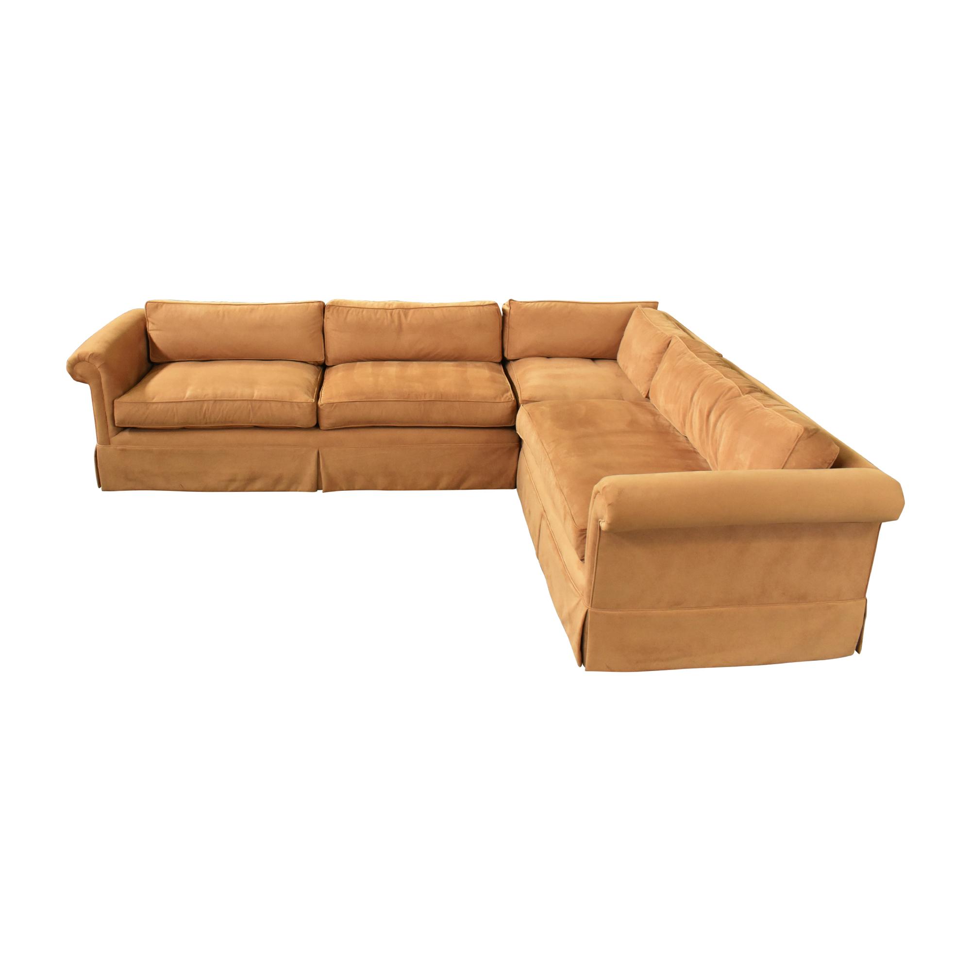 shop Custom Corner Sectional Sofa  Sofas