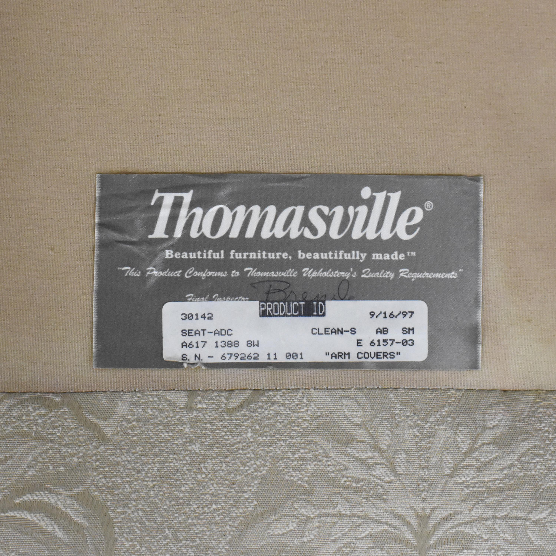 shop Thomasville Three Cushion Sofa Thomasville Sofas