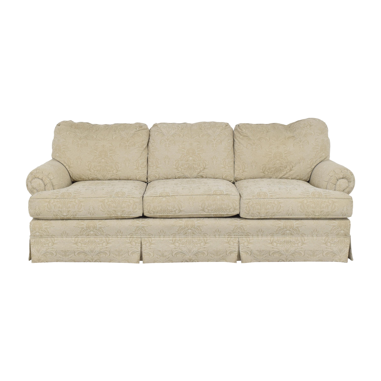 Thomasville Thomasville Three Cushion Sofa beige