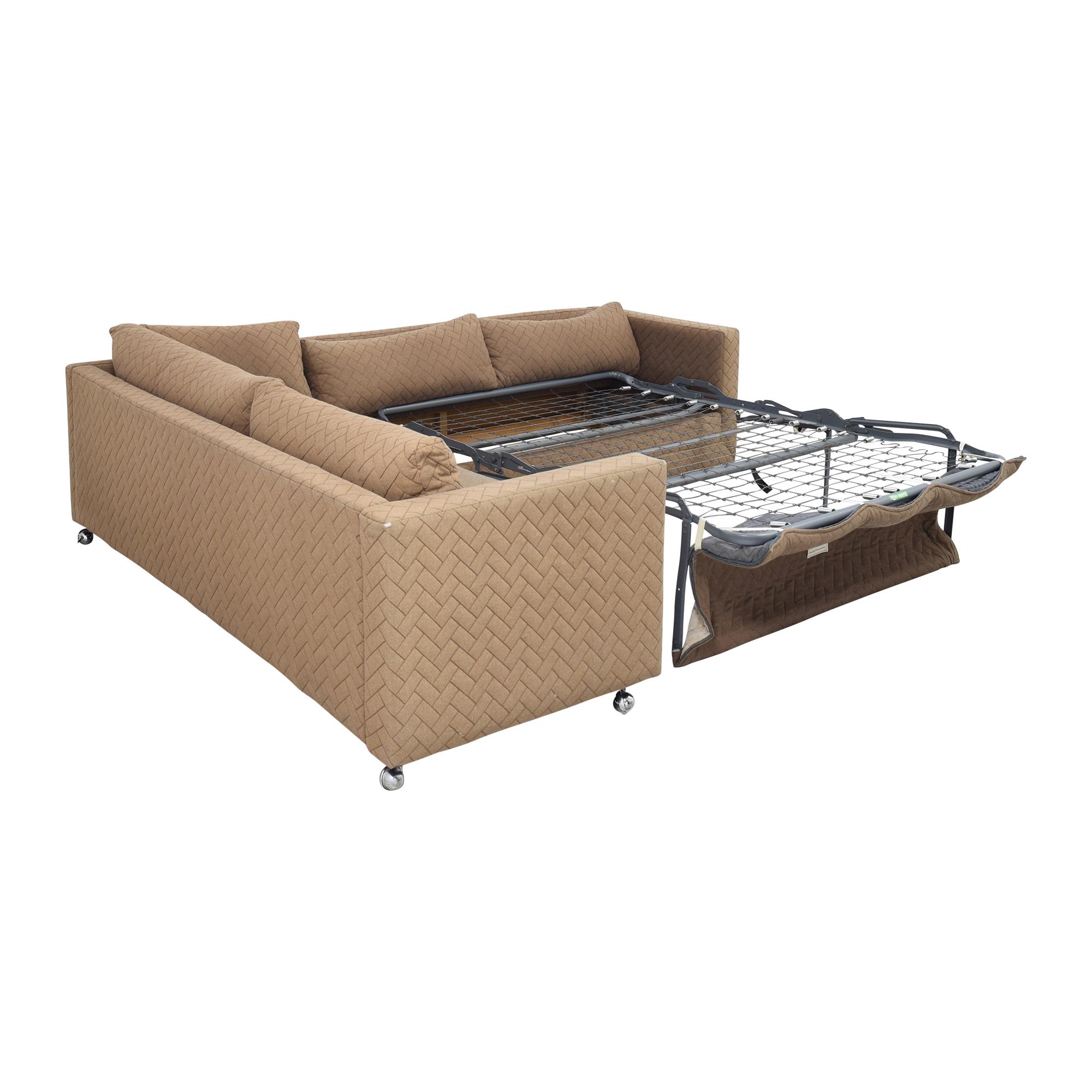 buy Avery Boardman Corner Sectional Sleeper Sofa Avery Boardman