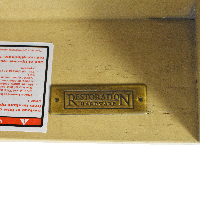 shop Restoration Hardware Restoration Hardware Empire Rosette Open Nightstand online