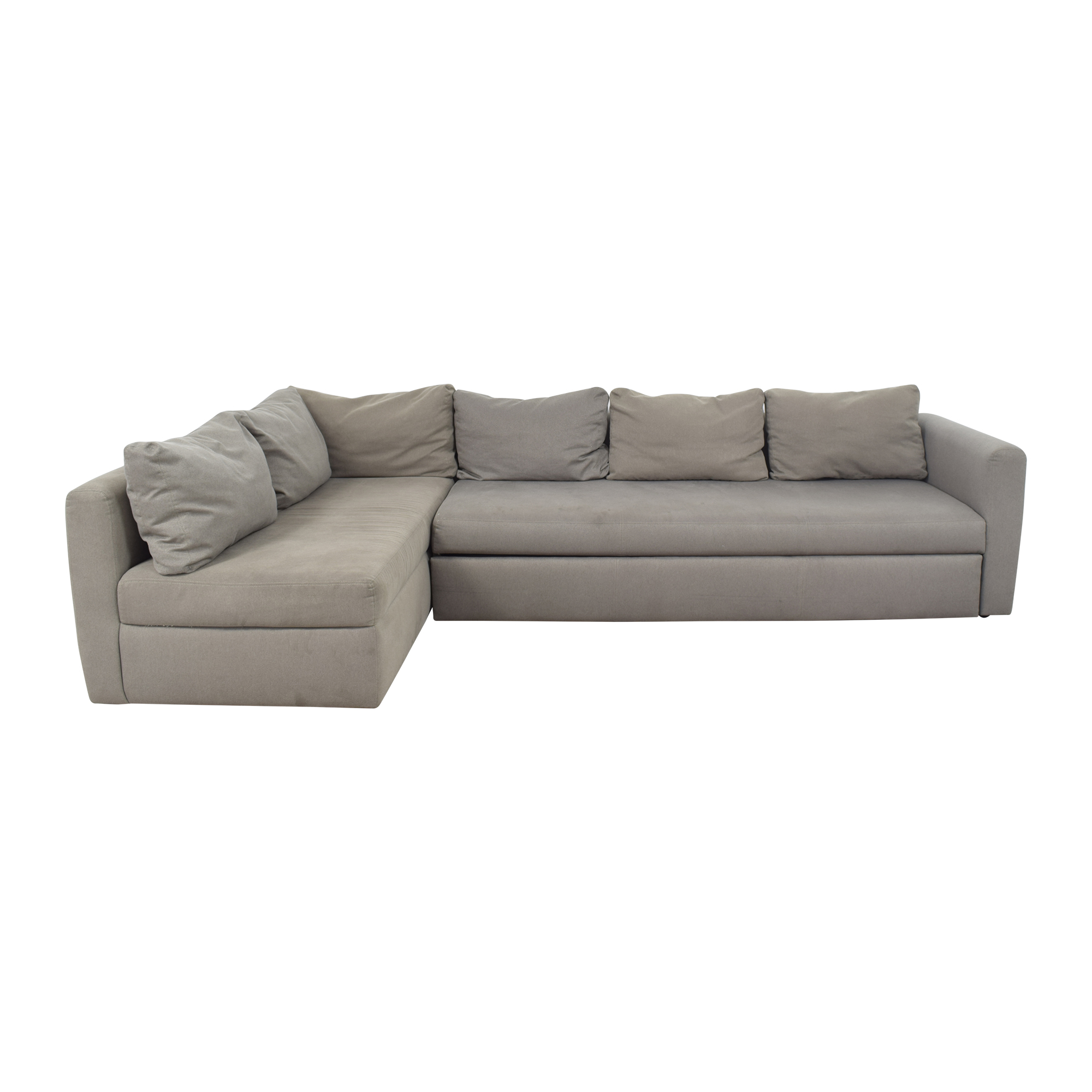 Room & Board Room & Board Oxford Pop Up Platform Sleeper Sofa with Storage Chaise used