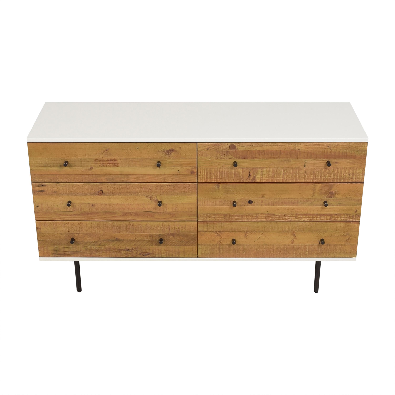West Elm Six Drawer Dresser / Storage