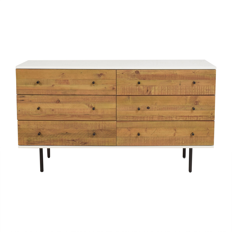 buy West Elm West Elm Six Drawer Dresser online