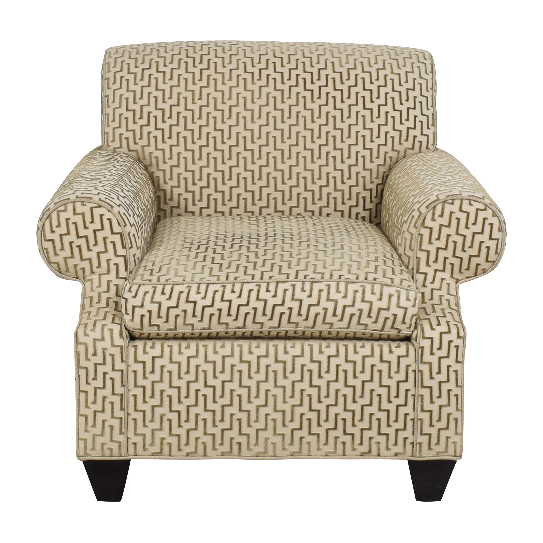 Custom Upholstered Arm Chair price