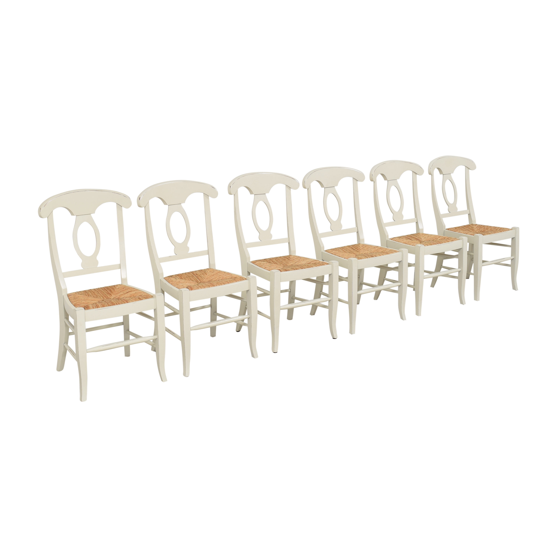 buy Pottery Barn Napoleon Dining Chairs Pottery Barn