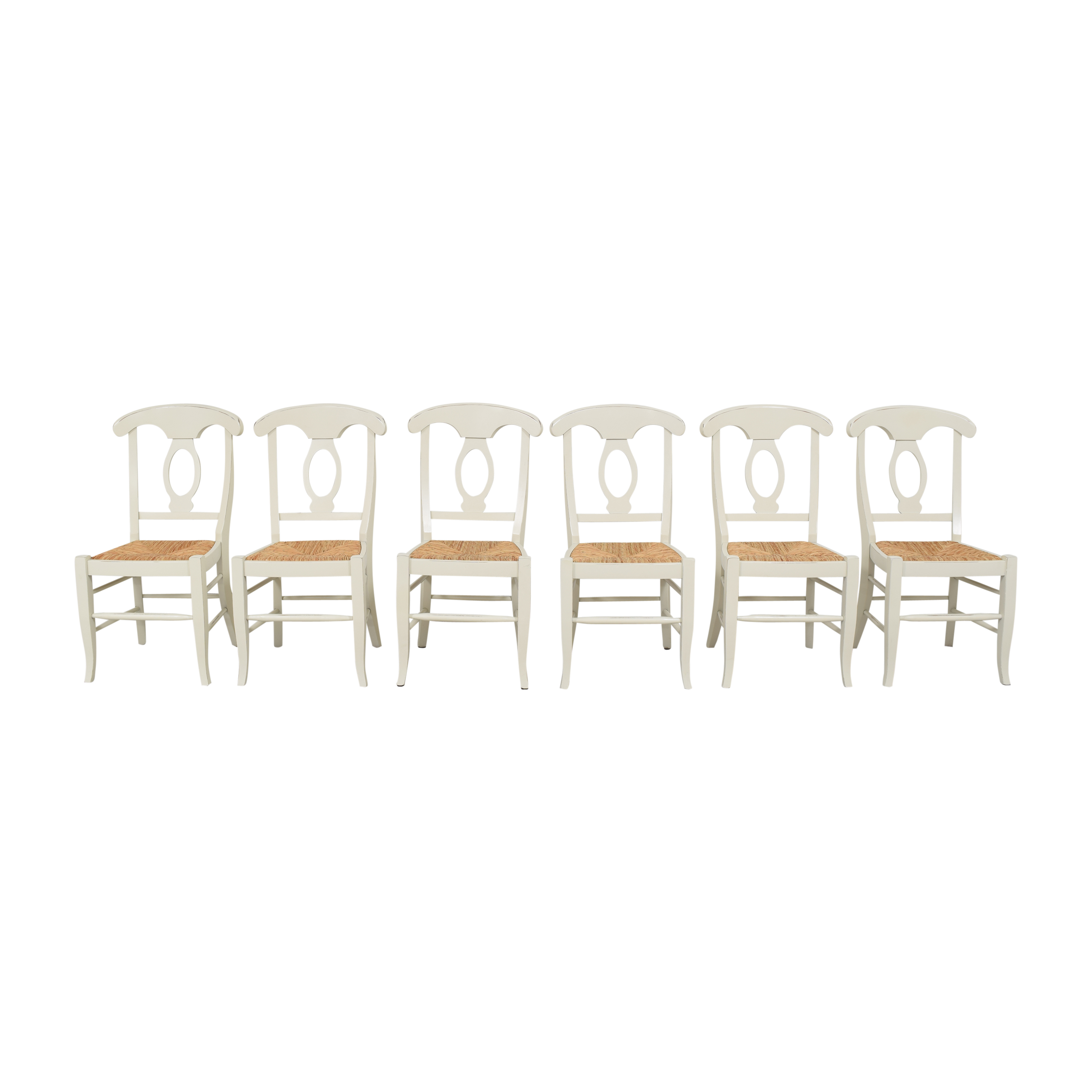 shop Pottery Barn Napoleon Dining Chairs Pottery Barn Chairs