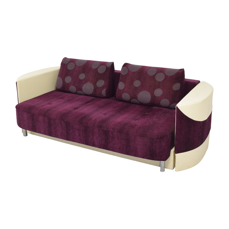 Retro-Style Sleeper Sofa Sofa Beds