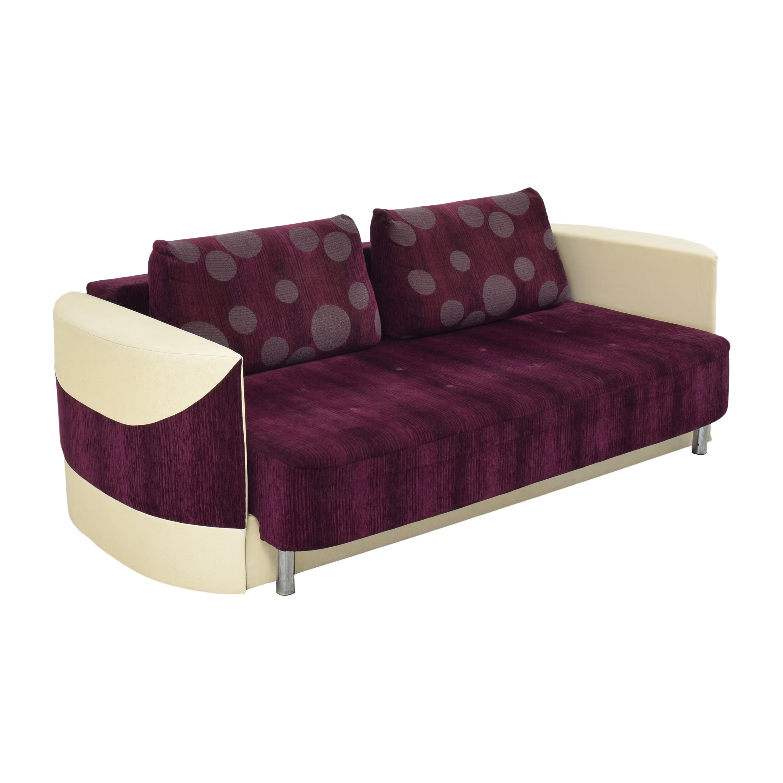 Retro-Style Sleeper Sofa ct