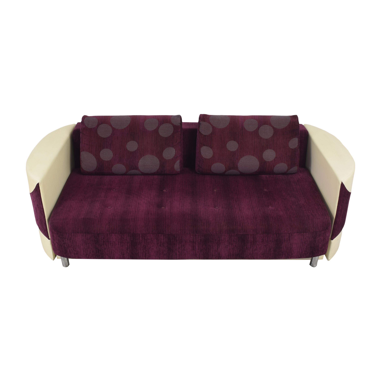 Retro-Style Sleeper Sofa discount