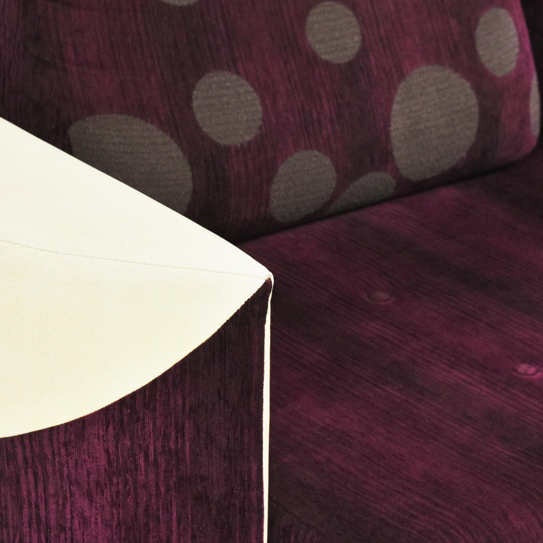 Retro-Style Sleeper Sofa dimensions