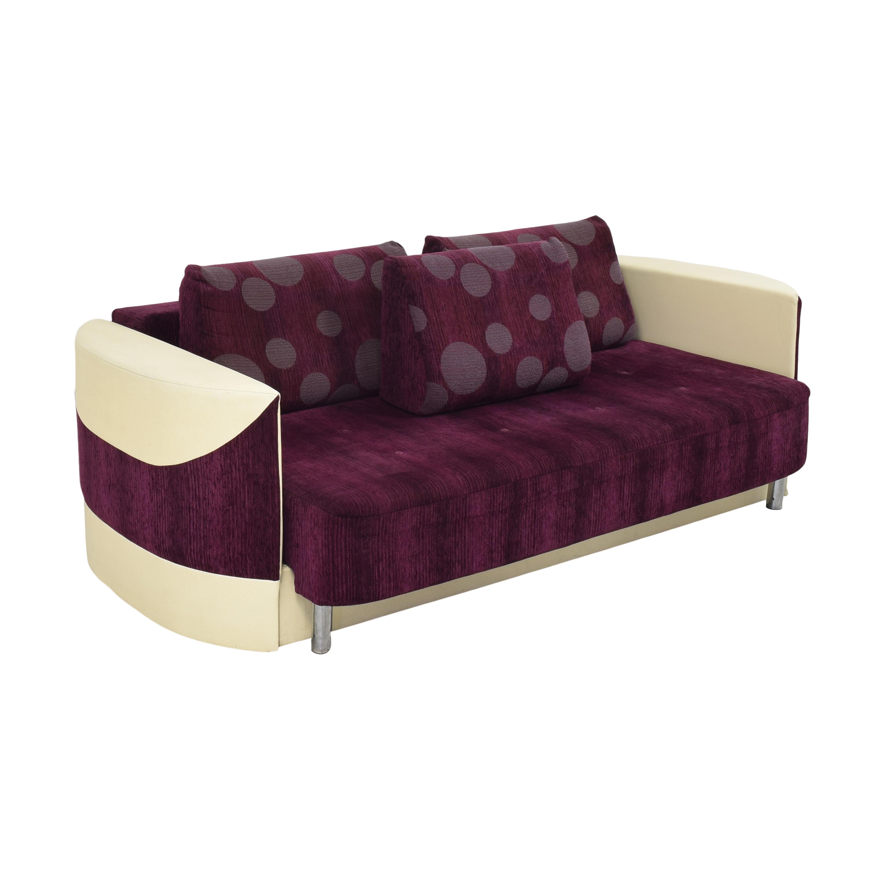 buy Retro-Style Sleeper Sofa  Sofa Beds