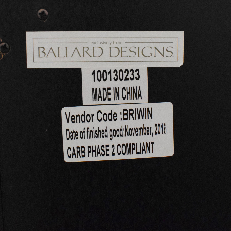 Ballard Designs Ballard Designs Grandezza Console Table black