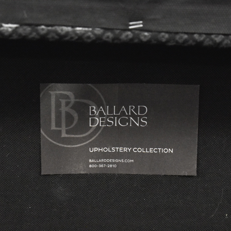 Ballard Designs Ballard Designs Tailored Storage Ottoman Storage