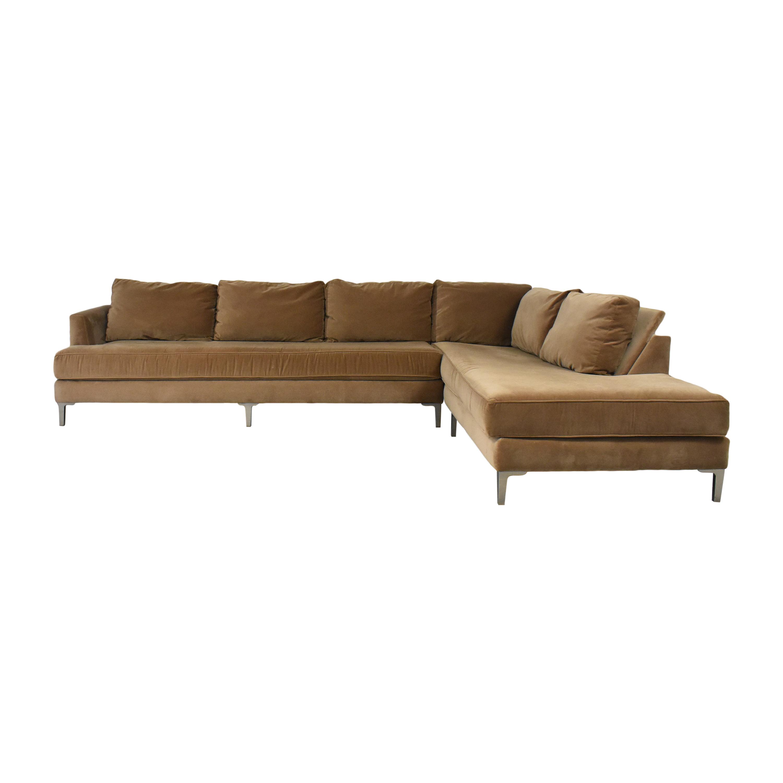 Kravet Kravet Chaise Sectional Sofa Sofas