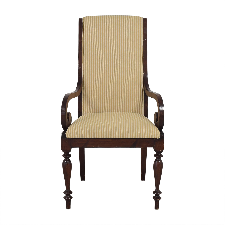 shop Sacchetto Fratelli Striped Dining Armchair Sacchetto Fratelli Dining Chairs