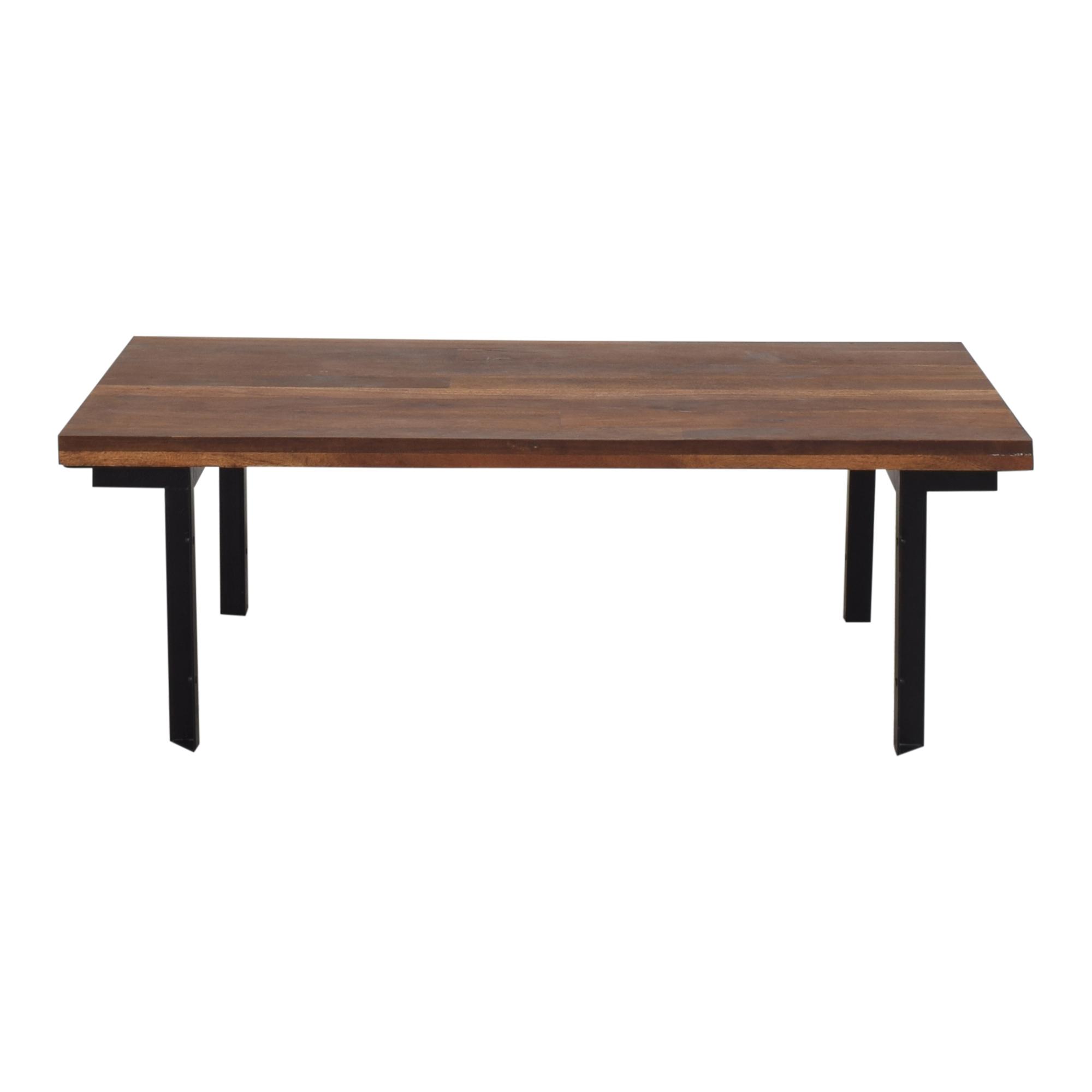 West Elm West Elm Industrial Coffee Table used