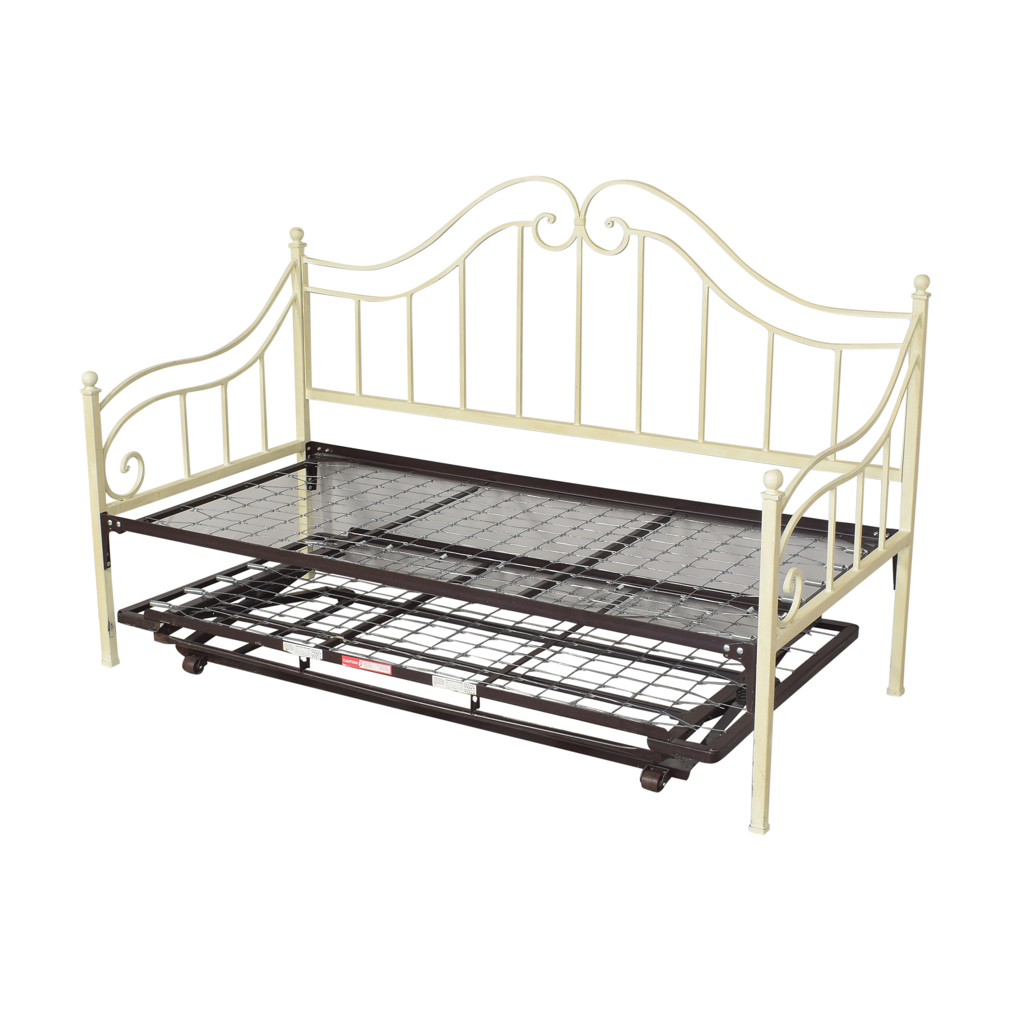 Ethan Allen Ethan Allen Openwork Twin Trundle Daybed nyc