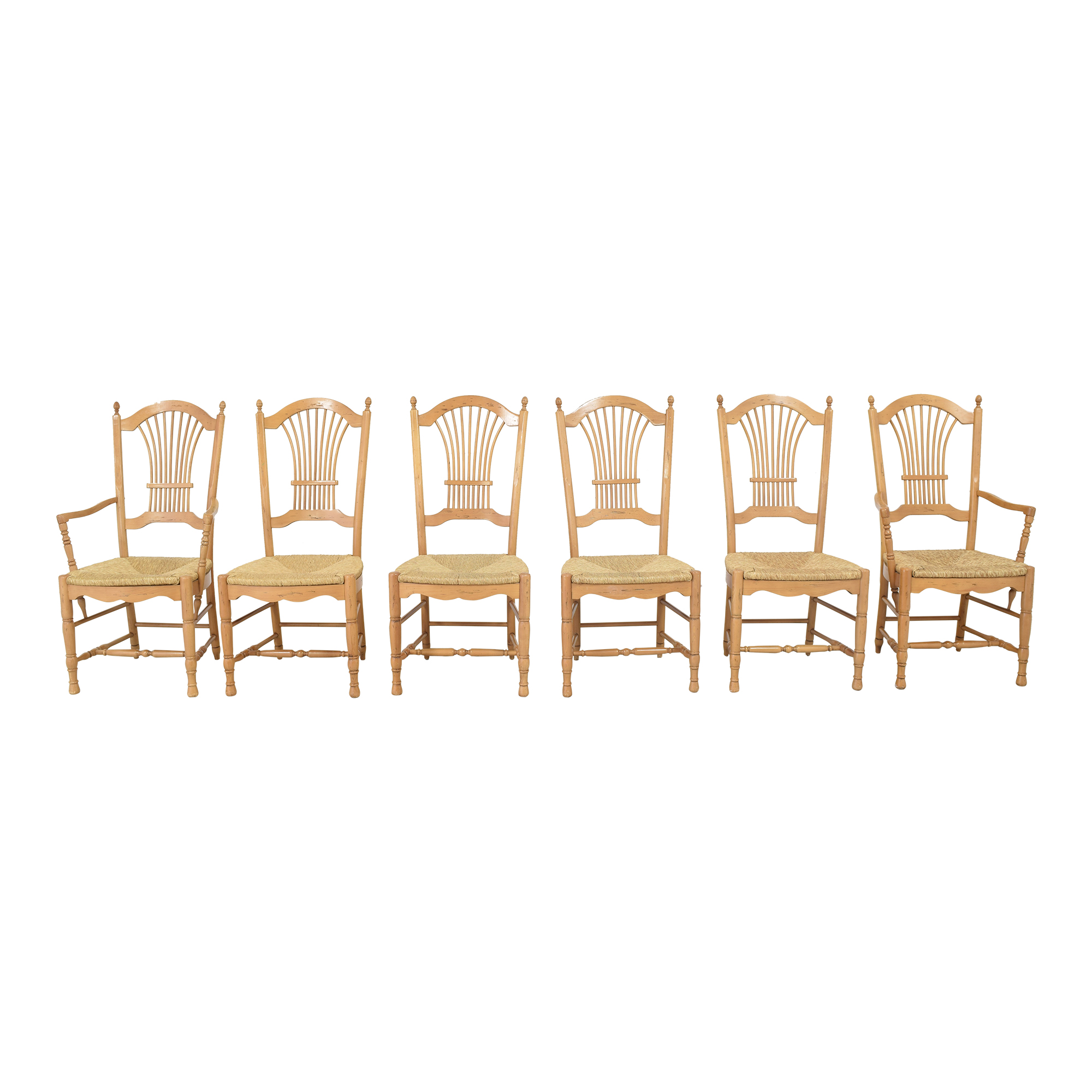 Rumrunner Home Rumrunner Home Sheaf Back Dining Chairs pa