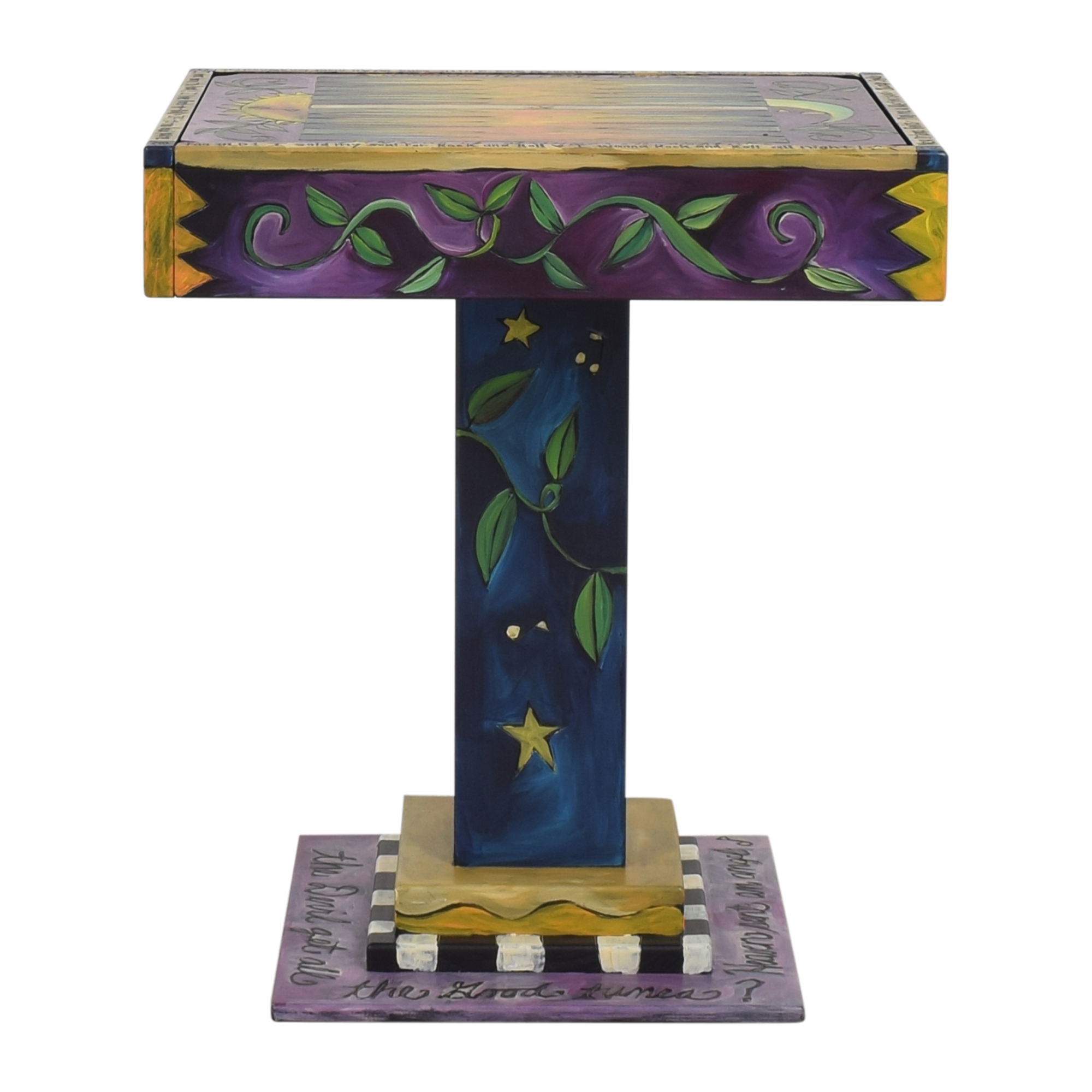 Sticks Sticks Flip-Top Game Table pa