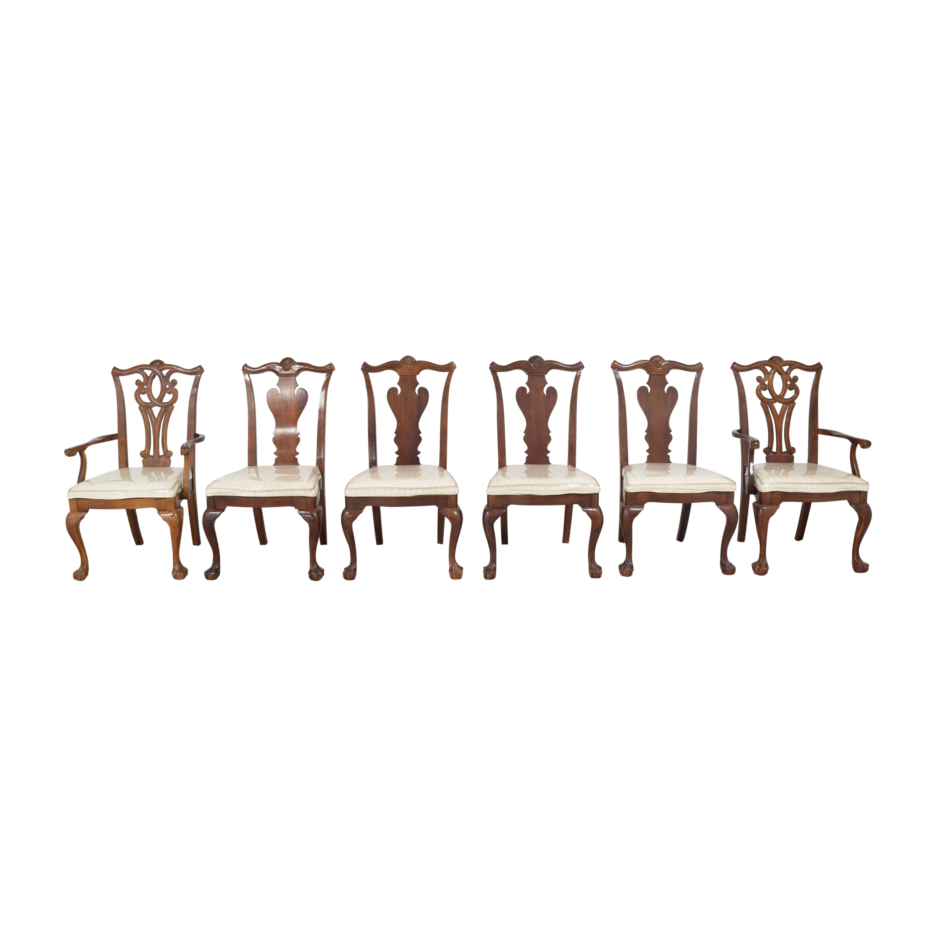 Universal Furniture Universal Furniture Queen Anne-Style Dining Chairs used
