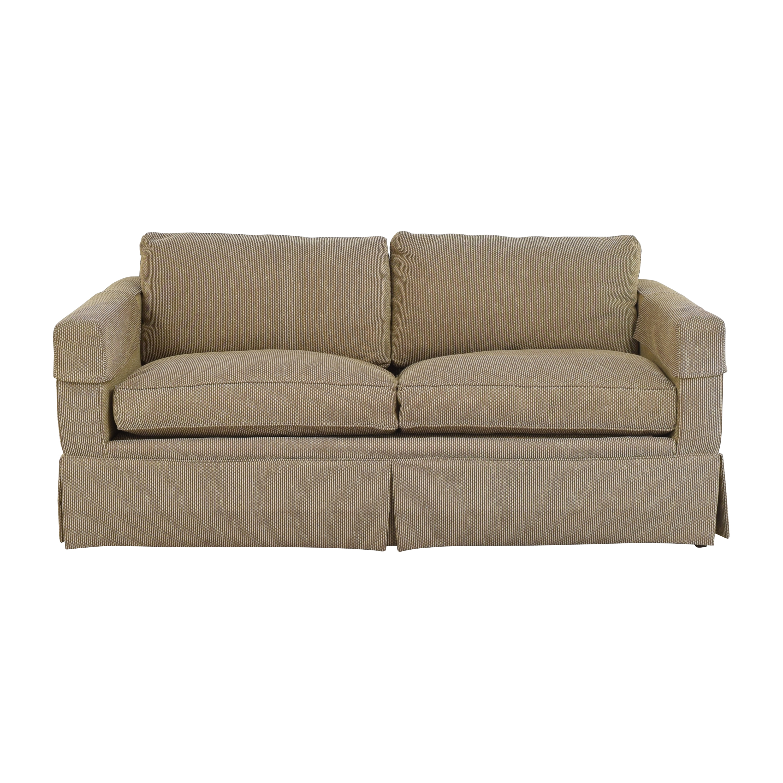 American of High Point American of Highpoint Sleeper Sofa tan
