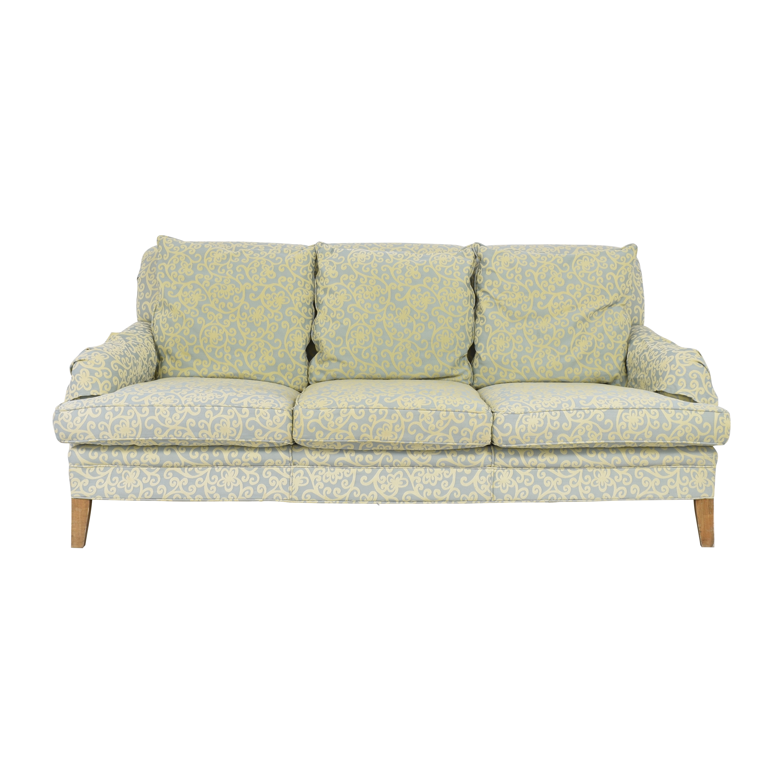 English Roll Arm Sofa nyc