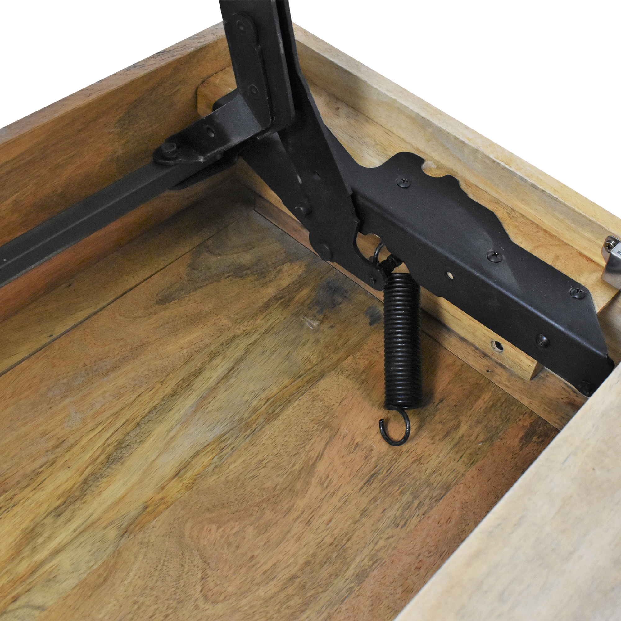 West Elm West Elm Industrial Storage Pop Up Coffee Table Tables