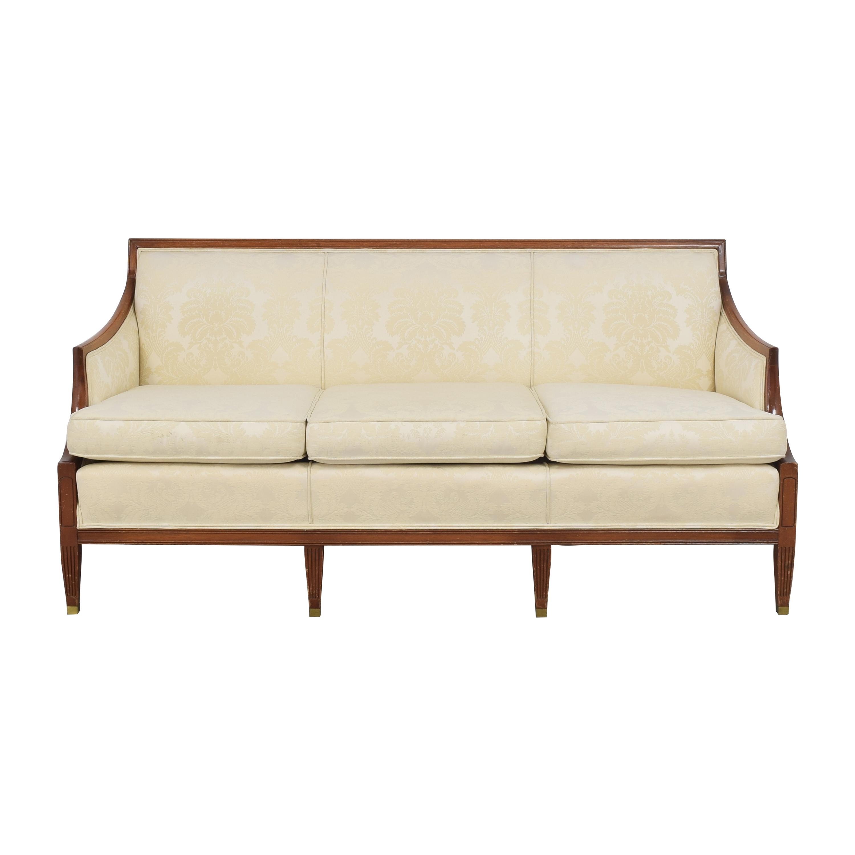 Vintage Damask Sofa second hand