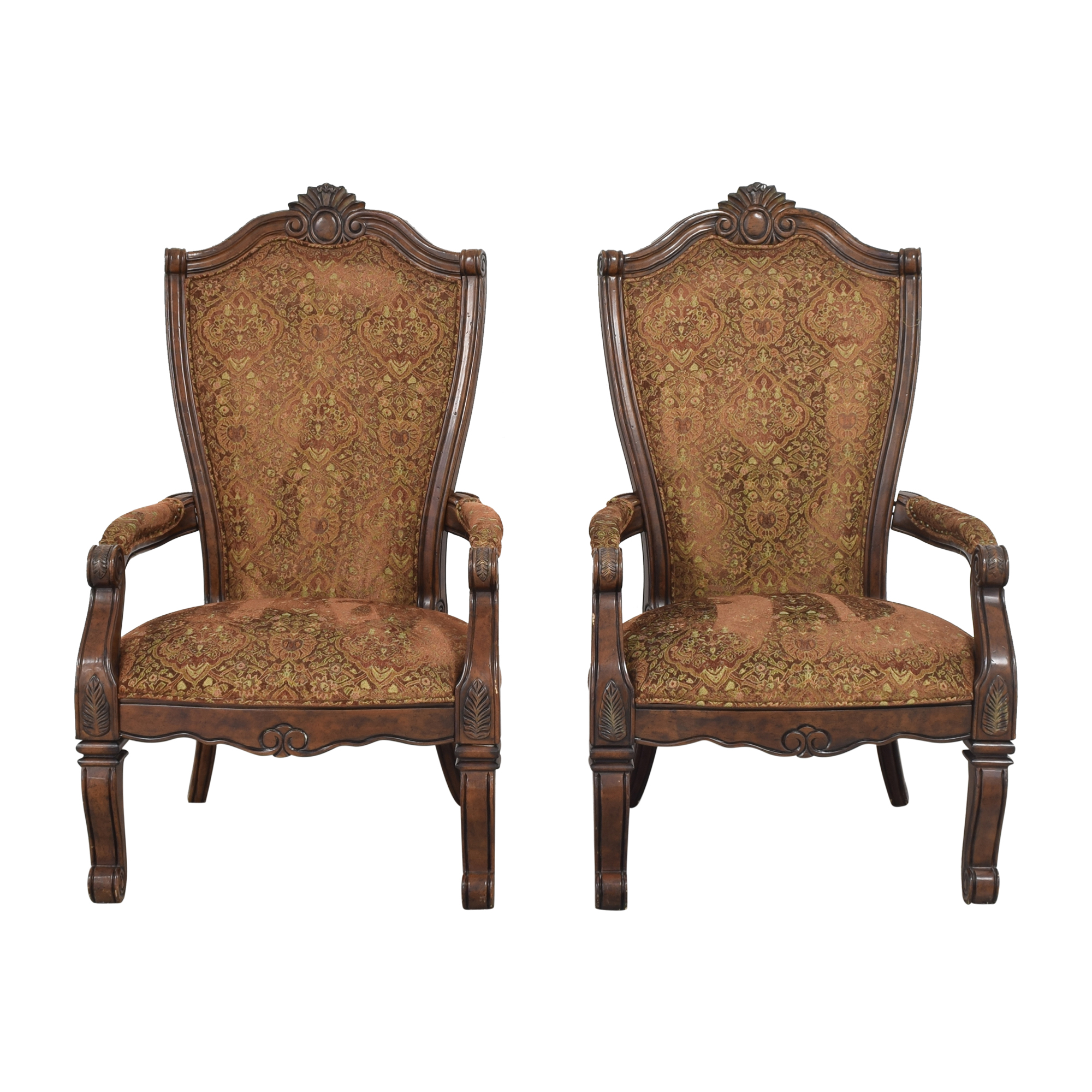 AICO AICO Windsor Court Dining Arm Chairs ct