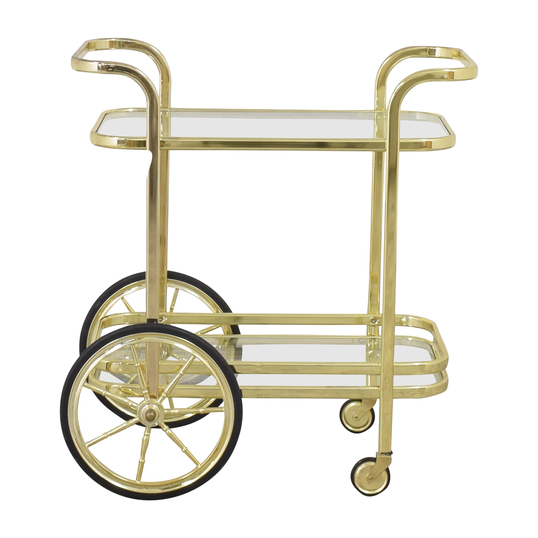 Williams Sonoma Williams Sonoma Bar Cart Accent Tables