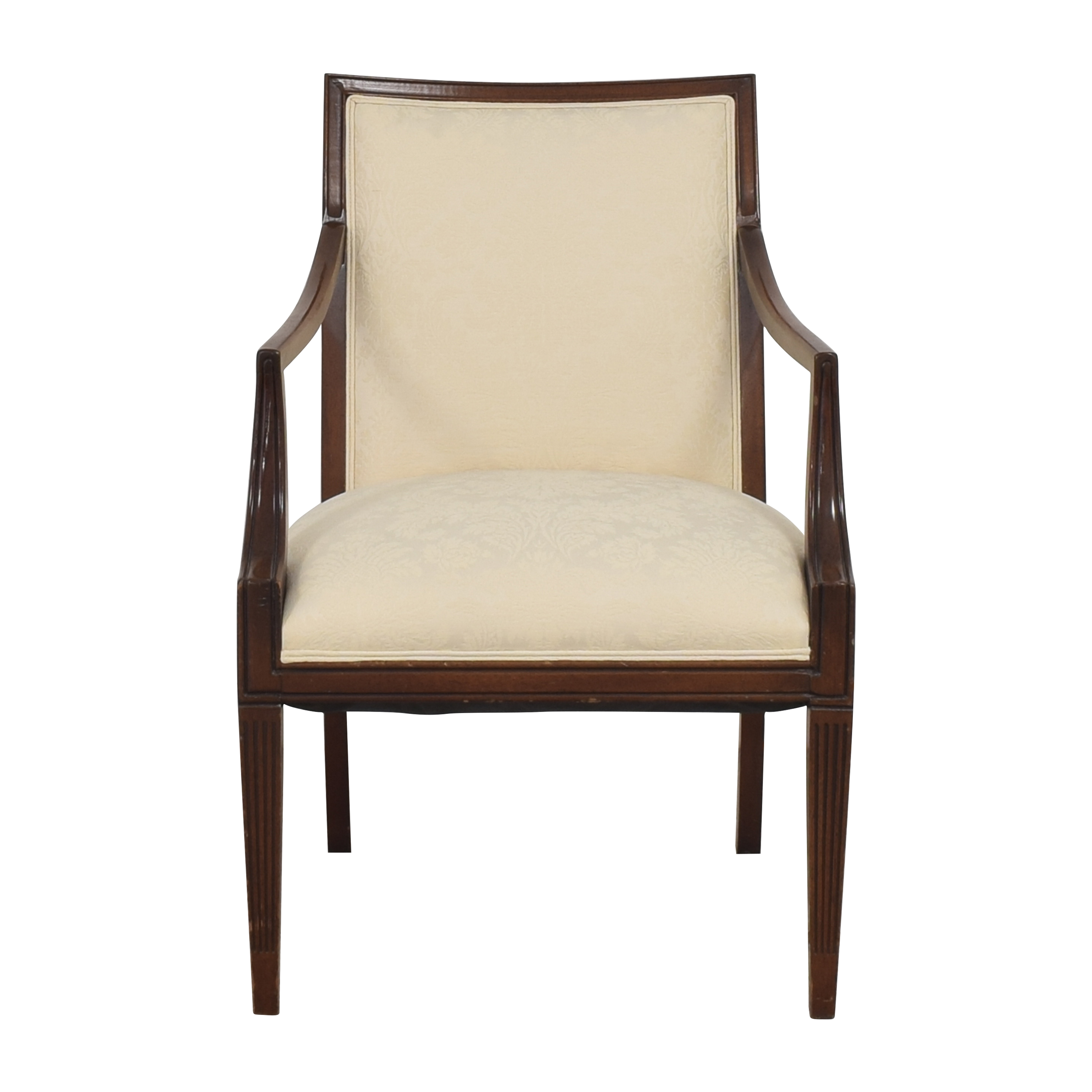 Vintage Damask Chair for sale
