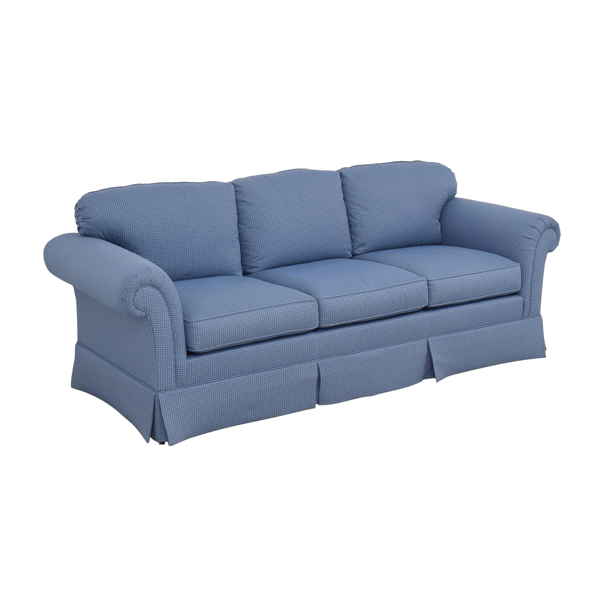 Kindel Kindel Sleigh Arm Sofa used
