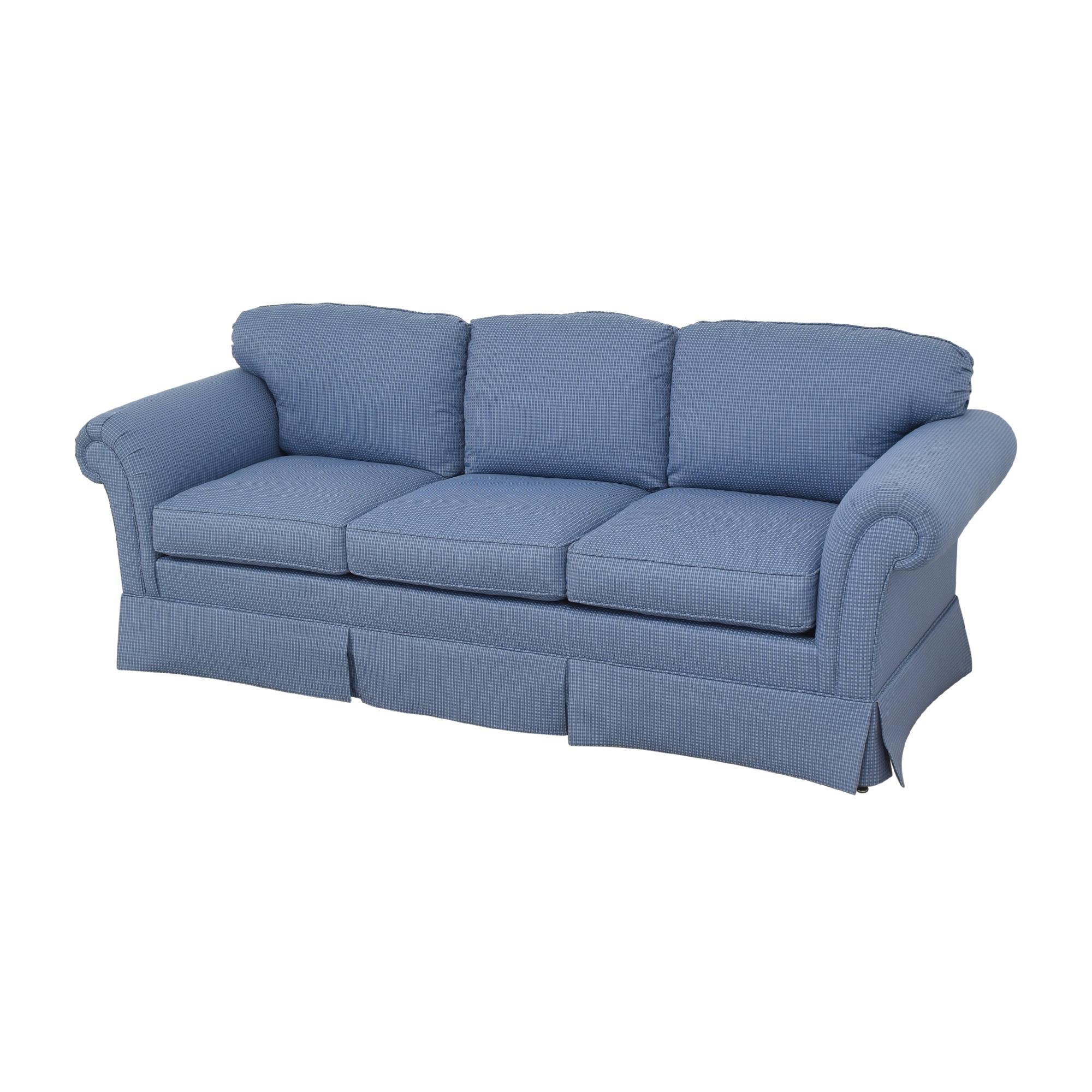 shop Kindel Sleigh Arm Sofa Kindel Sofas