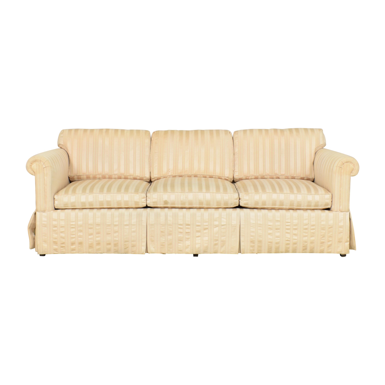 Baker Furniture Baker Furniture Striped Sofa Sofas